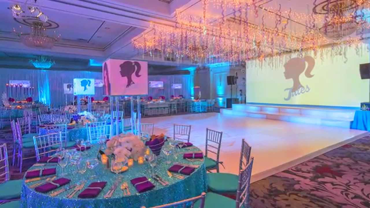 Bat Mitzvah Decor bat mitzvah party decor: julia's sparkling night in pearl river