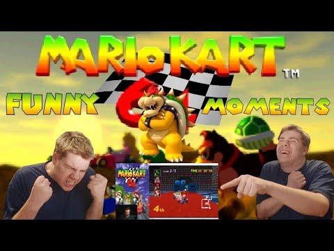 Mario Kart 64! Funny Moments & Reactions