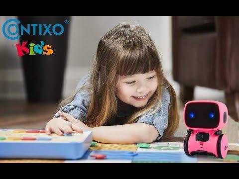 Contixo R1 Kids Robot Toy for Boys GirlsTalking Interactive Voice Controll...