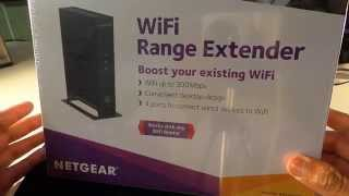wifi range extender easy to hook up