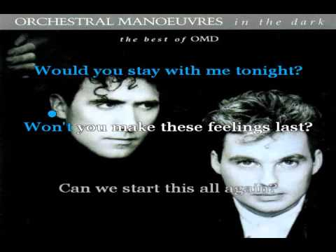 Dreaming (karaoke) - in the style of Orchestral Manoeuvres in the Dark