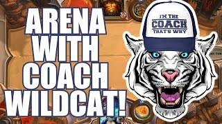 hearthstone mage arena w coach wildcat deck building first match