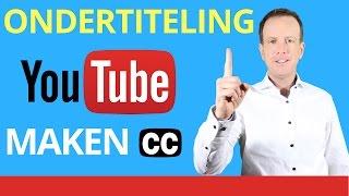 👉★Ondertiteling YouTube Maken - Hoe zet je Ondertiteling op YouTube Ondertiteling YouTube Toevoegen