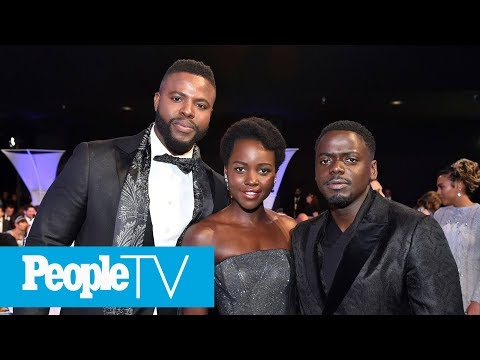 Black Panther's Winston Duke On How Lupita Nyong'o Supported Him  PeopleTV