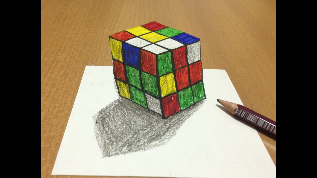 How To Make Paper Rubik's Cube