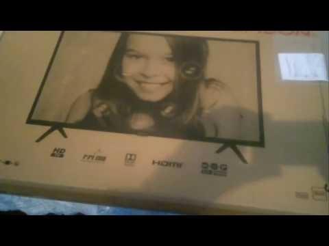 Телевизор Thomson 32HD3306. Роспаковка и обзор.