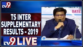 Telangana Inter Supplementary Results 2019 || LIVE - TV9
