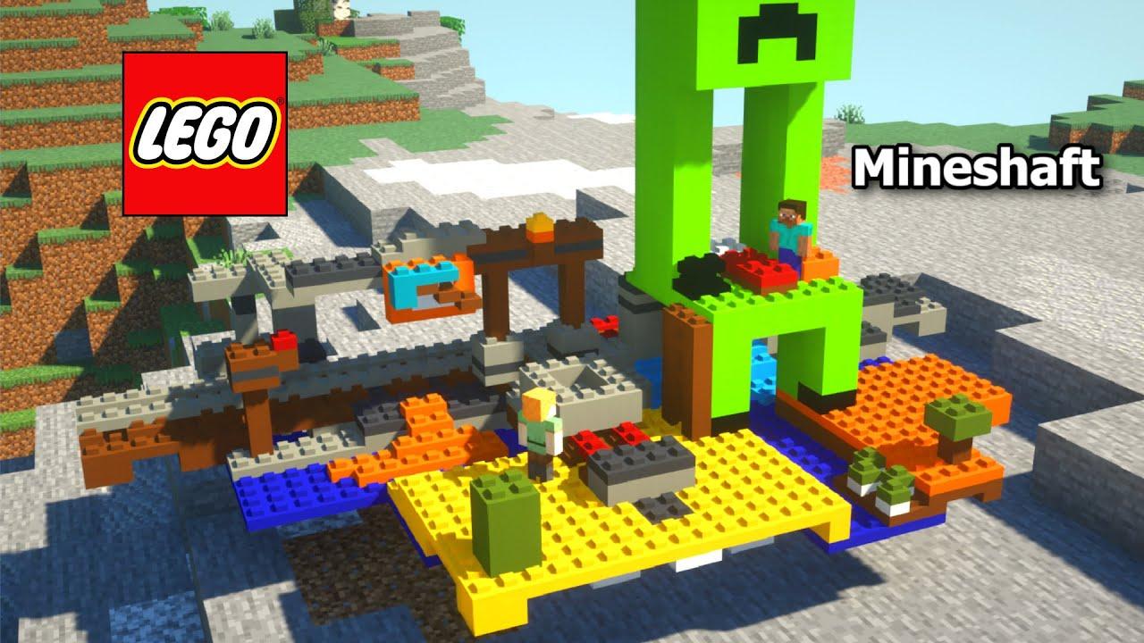 I added LEGO® to Minecraft