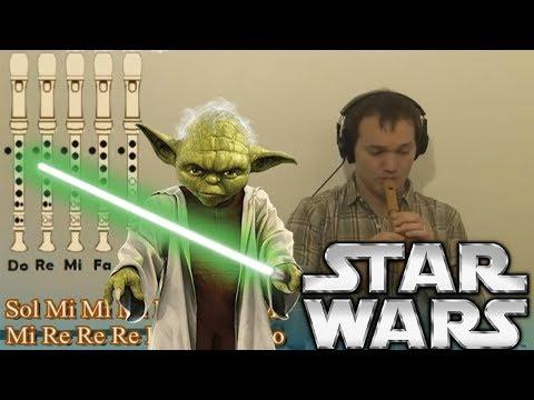 Star Wars Tema principal. Con todas las notas explicadas para aprenderla!!!