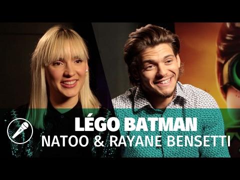 Natoo & Rayane Bensetti : doubleurs dans LEGO Batman, le film !