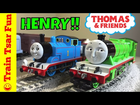 Modelling Railway Toy Train Track Plans -Mind-Blowing THOMAS AND FRIENDS | Bachmann HENRY the Green Engine HO Scale Train