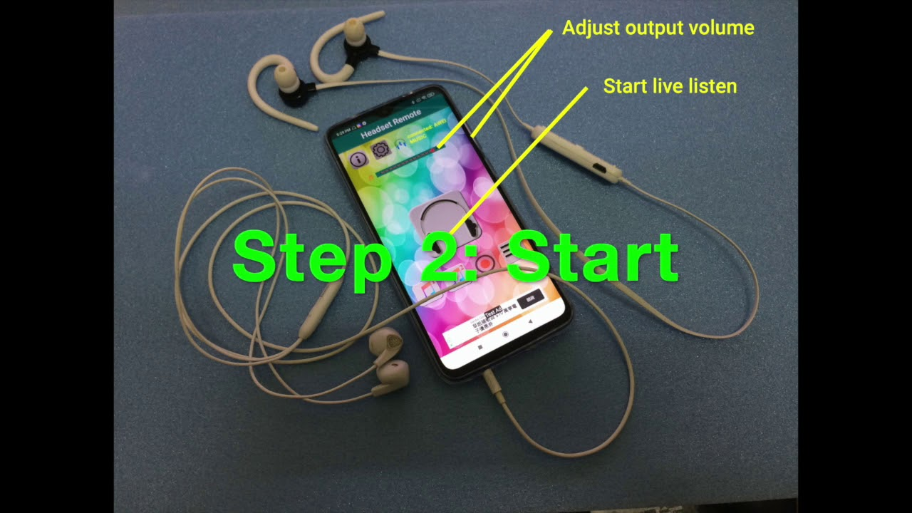 Android app   Headset Remote. Live listen for Android tutorial ...