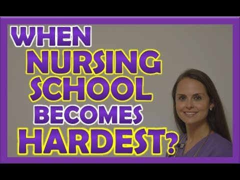 When Nursing School Becomes the Hardest? | Nursing School Tips