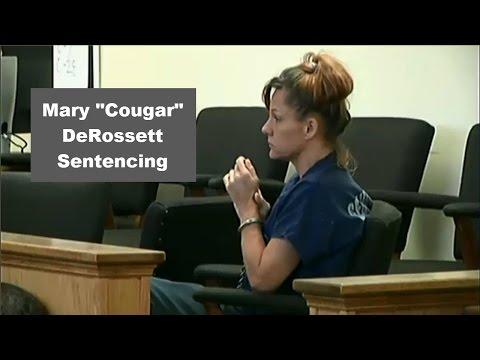 """Mary """"Cougar"""" DeRossett Sentencing 10/05/15"""