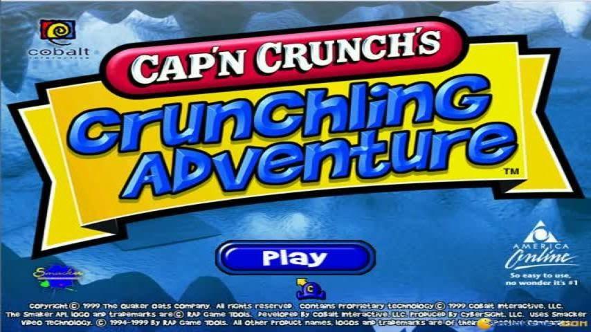 Cap n crunch game