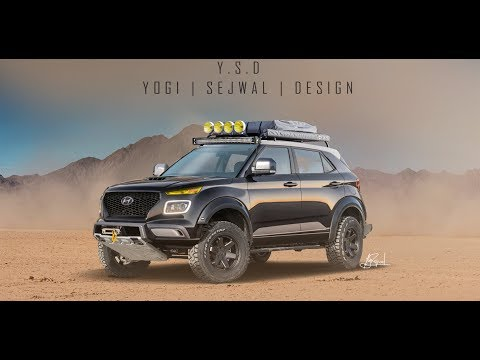 Hyundai Venue new Look | New Idea | off-roading concept
