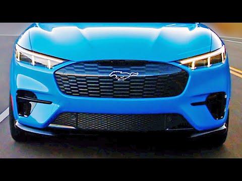 2021 Ford Mustang Mach-E – Electric SUV – Design, Interior, Specs