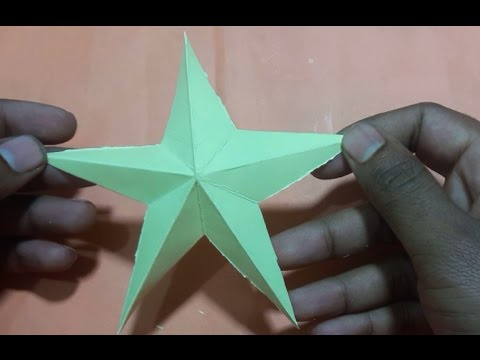 How To Make Simple And Easy Paper Star Diy Paper Craft Ideas