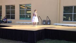 "Alexis Jordan Bentinganan singing ""Own My Own"" at the J Idol Contes..."