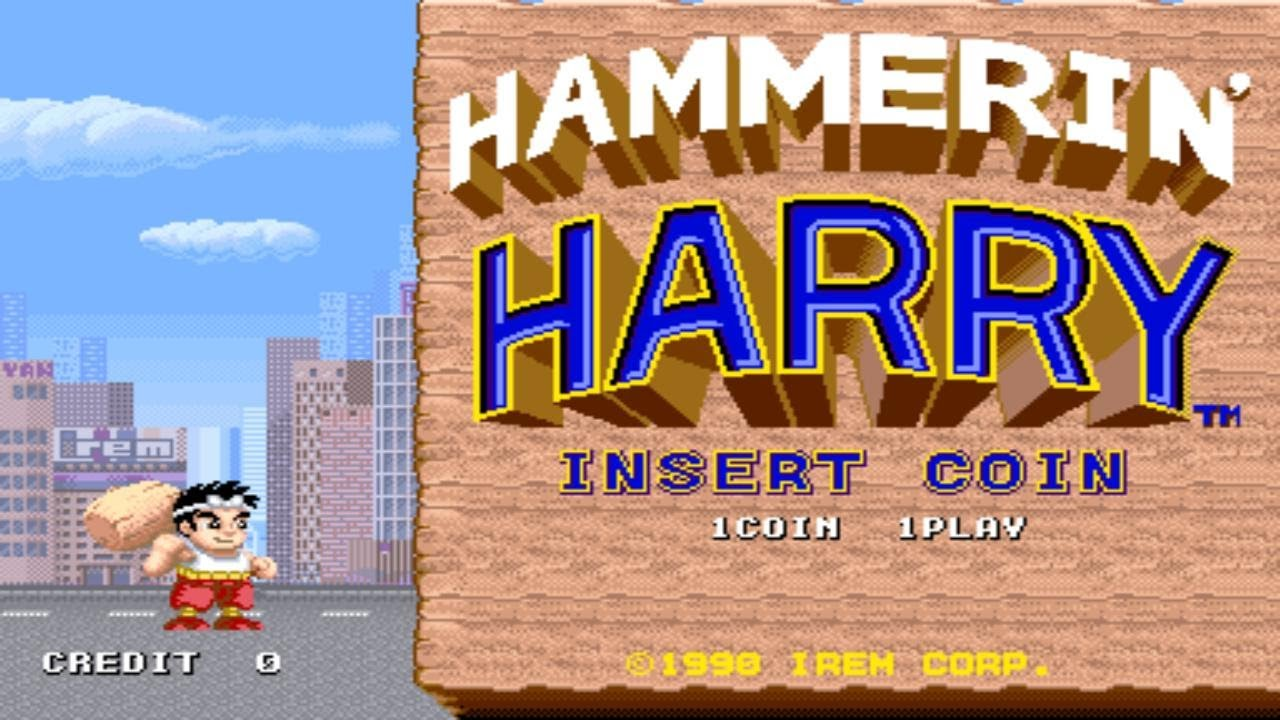 Download Hammerin' Harry 1990 Irem Mame Retro Arcade Games