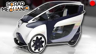 Building a Half Car Half Motorcycle Vehicle?! - Scrap Mechanic Live Stream