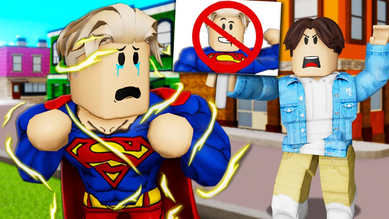 The Hated Superhero! A Roblox Movie