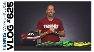 adidas SoleCourt Boost, new Pure Aeros + more new tennis gear -- VLOG #625