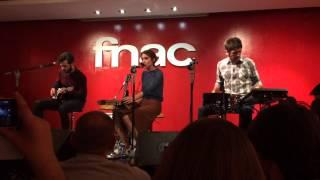 Anni B Sweet - Chasing Illusions en el showcase acustico FNAC Callao 10-3-2015