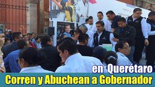 Corren al Gobernador de Querétaro del desfile del 1 de Mayo