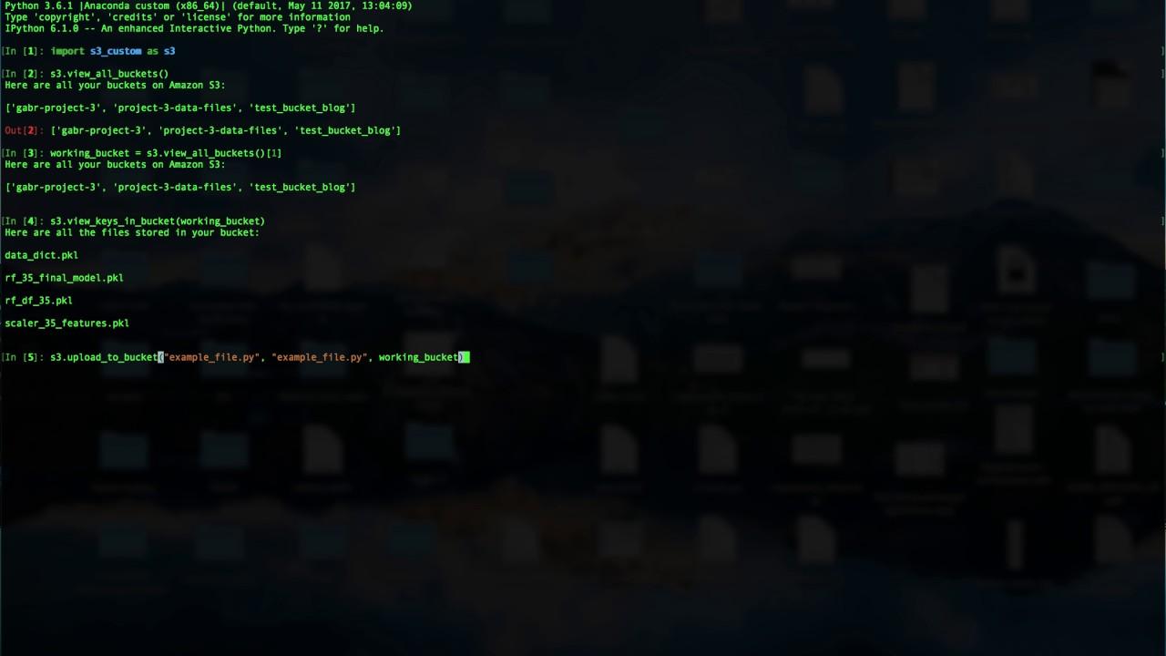 AWS S3 Setup and Use! - Python — Ibrahim Gabr