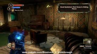 BioShock 2 Walkthrough - Pauper's Drop Part 6 HD