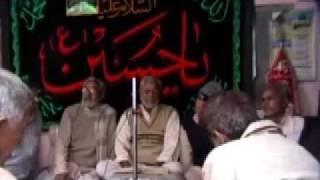 Marsiya jab hue bazu-e-abbas qalam dariya par