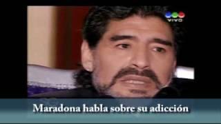 Maradona habla sobre su adicción con Susana Gimenez / Ultima jugada