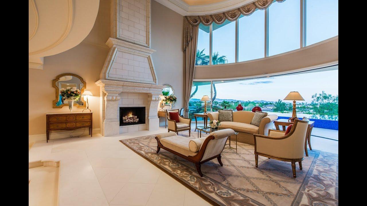 luxury home 5114 spanish hills dr las vegas nv youtube