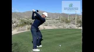 Tiger Woods Driver Golf Swing 2013