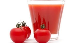 Chilled Tomato Juice | INDIAN RECIPES | WORLD'S FAVORITE RECIPES | HOW TO MAKE