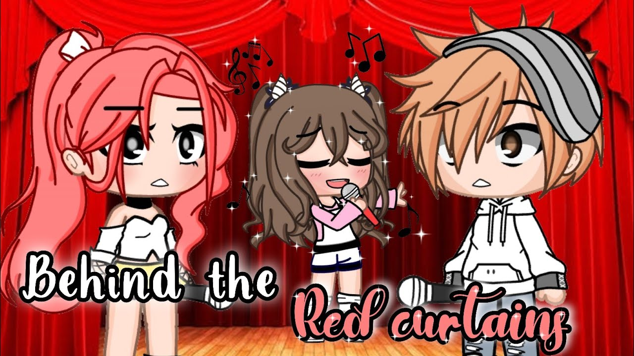 🗼 Behind the Red Curtains🗼 | GCM ✨inspired ✨ GCMM | Gacha Club | Rabbit Adventures