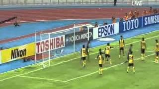 サッカー マレーシアx日本