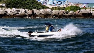Little Boat, Big Water | Sylvan Bowrider at Haulover