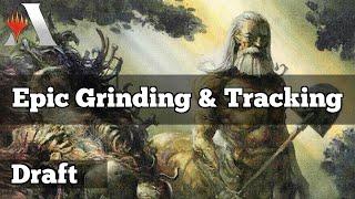 Epic Grinding \u0026 Tracking | Draft Magic Core Set 2020 [Arena]