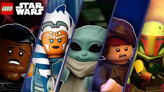 Celebrate the Season: Halloween Compilation | LEGO Star Wars