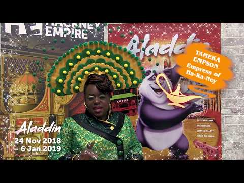 Aladdin at Hackney Empire - An Insight from the Cast!