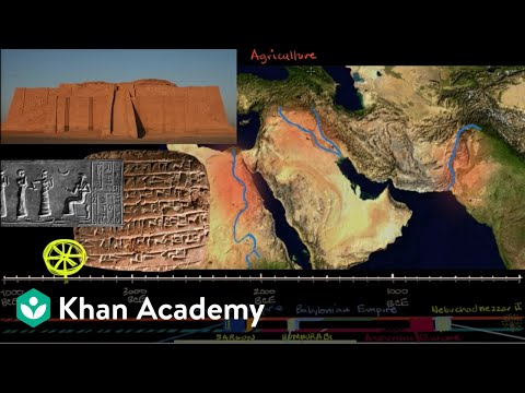 Ancient Mesopotamia | Early Civilizations | World History | Khan Academy
