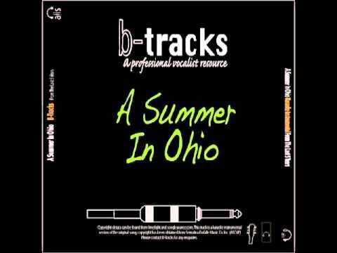 Summer In Ohio karaoke backing track, The Last 5 Years karaoke.m4v
