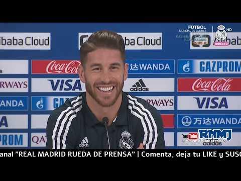 Real Madrid - Al Ain FC Rueda de prensa SERGIO RAMOS - Mundial de Clubes EAU (21/12/18)