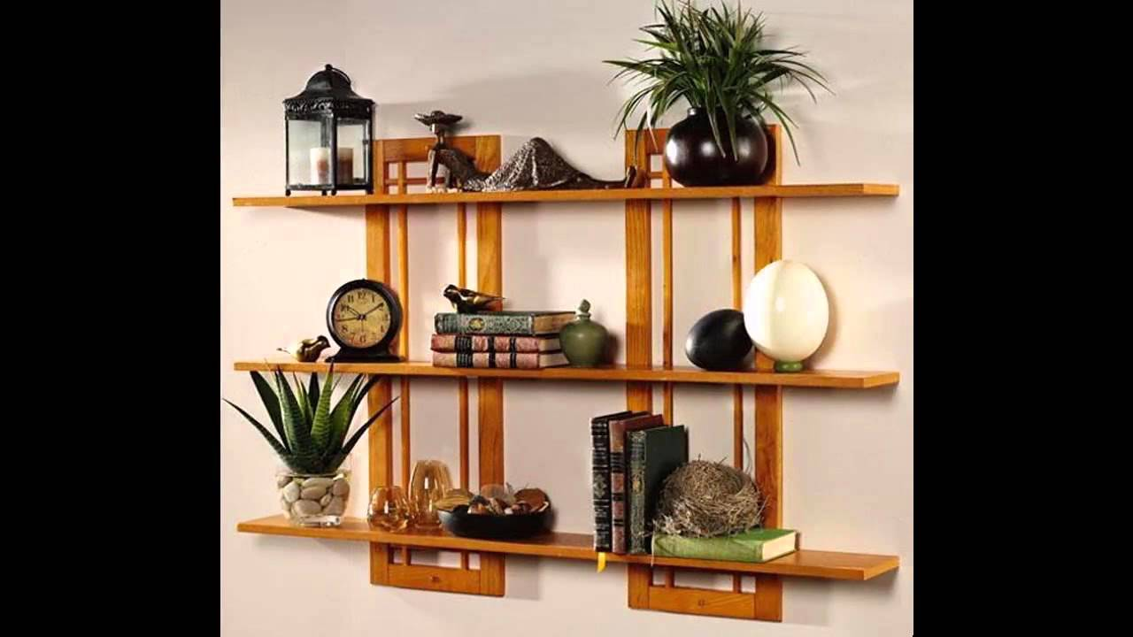 Wonderful Wall Shelves Decorating Ideas Youtube