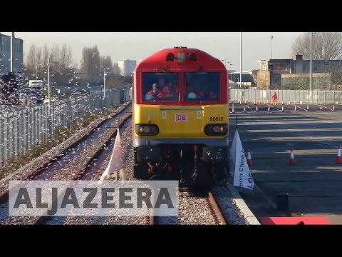 'Silk Road' Train From China Reaches London