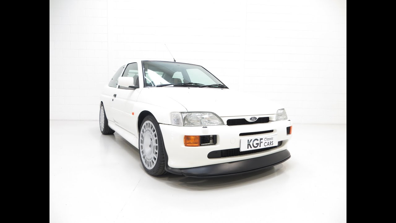 A Breathtaking Large Turbo Ford Escort RS Cosworth Luxury with ...