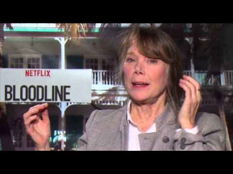 Sissy Spacek on touchy-feely Bloodline family, great big hug of awards success