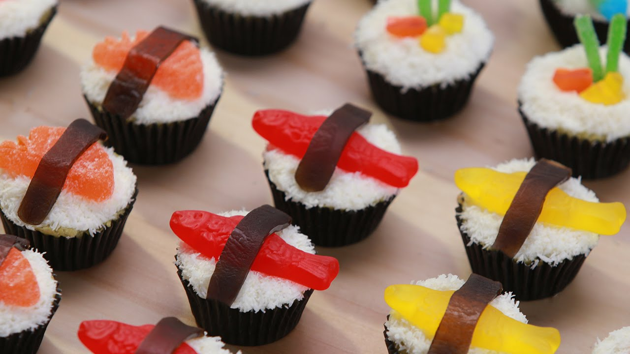 How To Make A Sushi Themed Cake